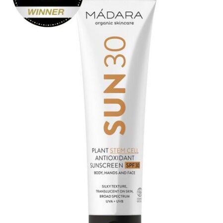 Mádara Plant Stem Cell Antioxidant Sunscreen Body SPF30