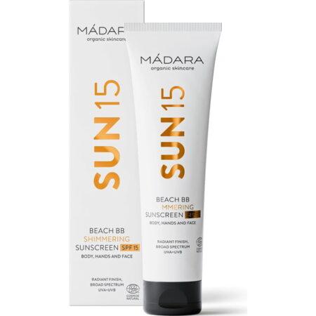 Mádara Beach BB Shimmering Sunscreen SPF15